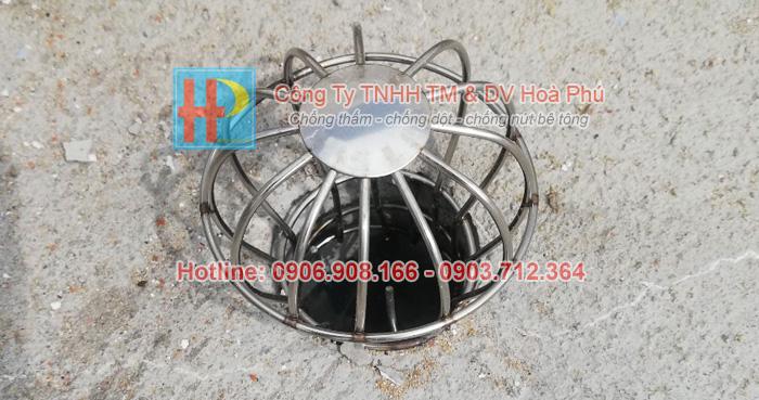 Chống thấm miệng ống thu nước bằng TX921