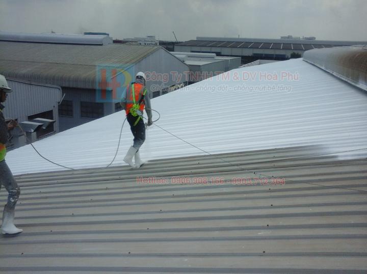 Chống dột - chống rỉ sét mái tôn bằng TX911